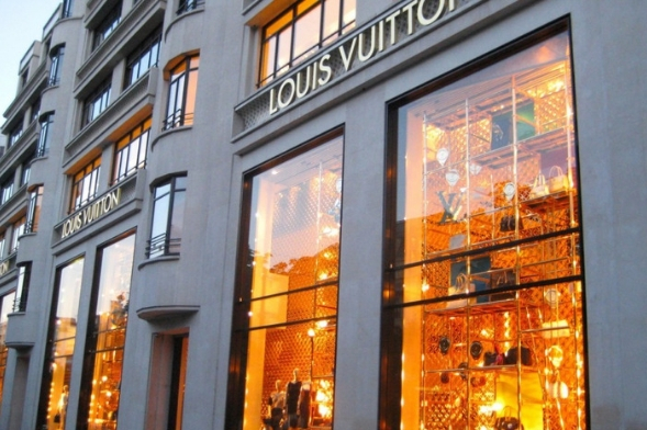 Luis Vuitton Store at Champs Elysees Blvd