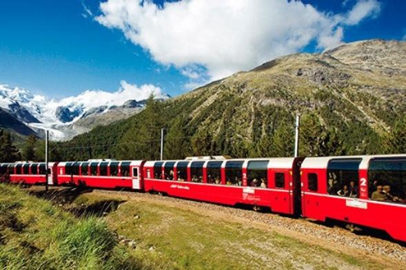 Ruta del Ferrocarril Expreso de Bernina
