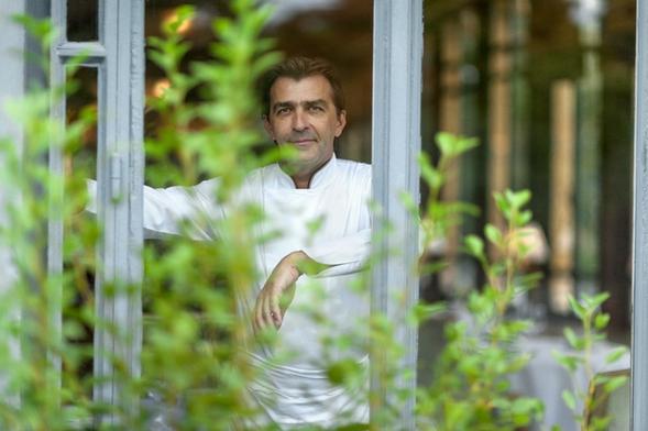 El chef Yannick Elléno
