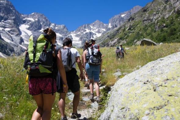 Trekking routes in Andorra