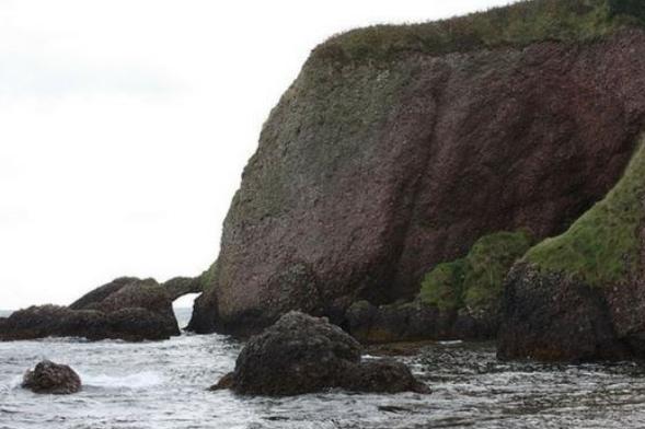 cuevas de Cushendun, Irlanda del Norte