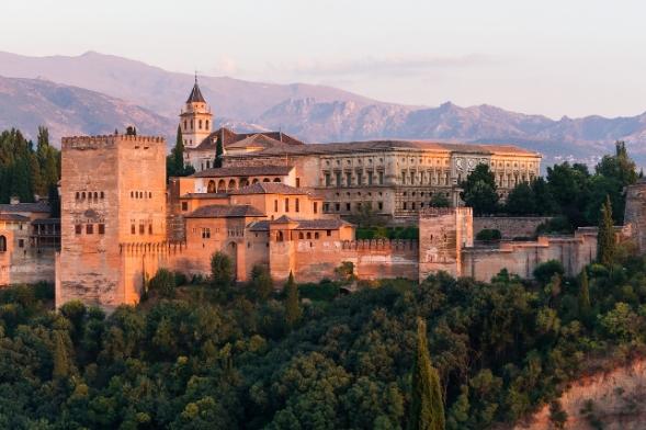 La Alhambra. Granada. España