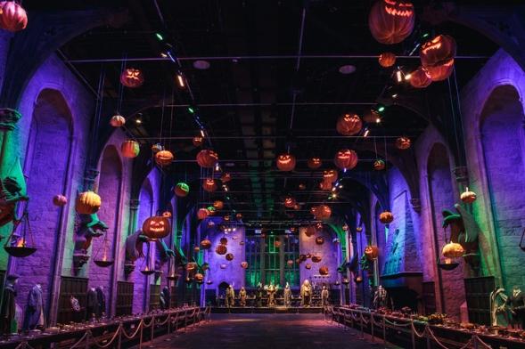 Halloween en Hogwarts