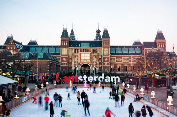 Ice Skating - Amsterdam