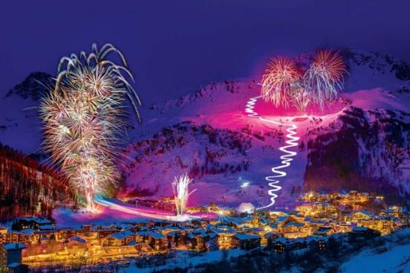Fireworks Festival Courchevel