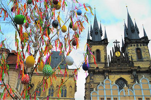 Pascua en Europa