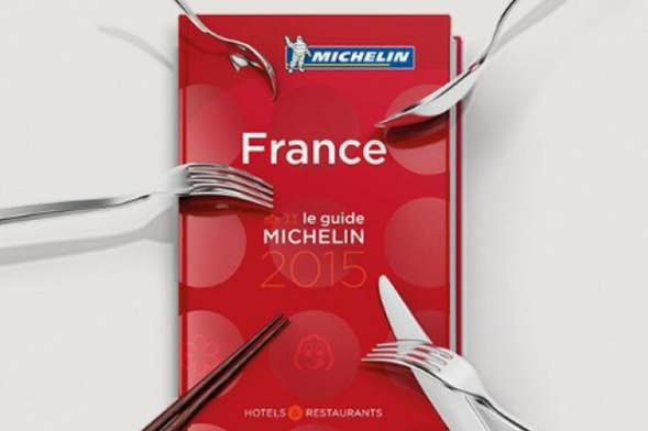 Le guide Michelin 2015. (screenshot from Le Michelin)
