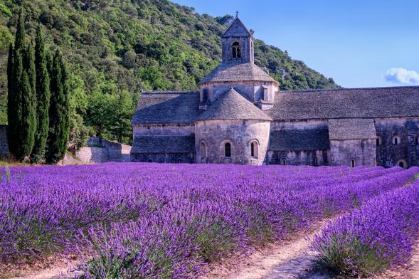 Abadía de Sénaque, La Provenza