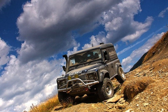 Jeep 4x4 routes