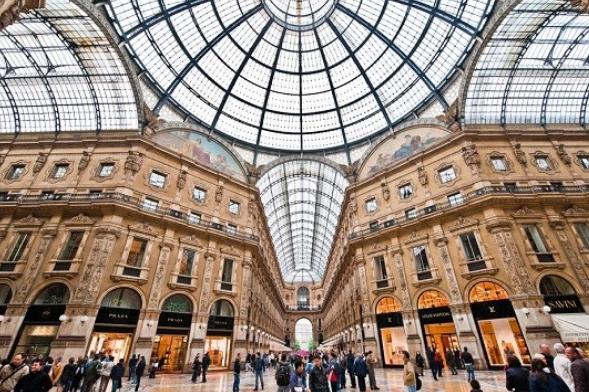 Compras en Milán