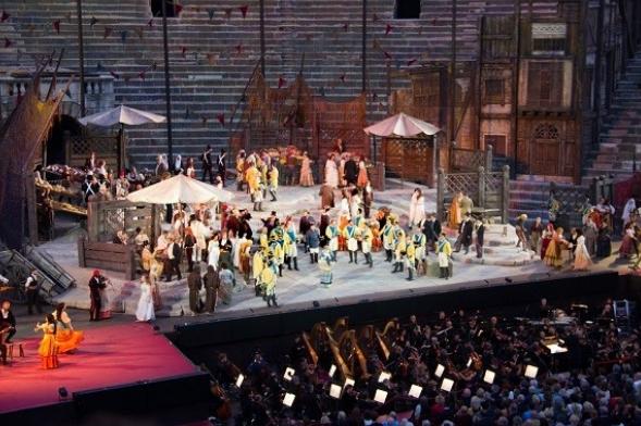 "Ópera ""Carmen"" en Verona"