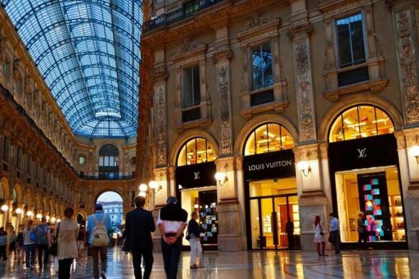 Quadrilatero d´Oro, Milan