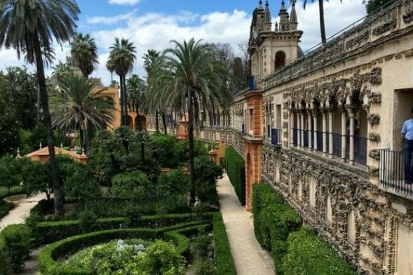 Real Alcázar de Sevilla, España