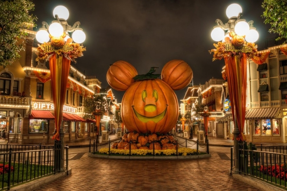 Halloween in Disneyland Paris