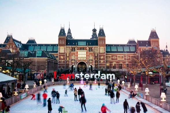 Ice Skating - Amsterdam