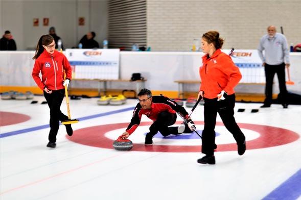Curling - Jaca,Zaragoza