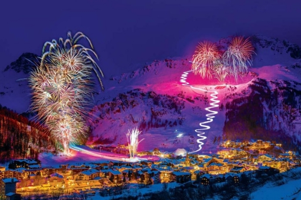 Fireworks Festival Courchevel